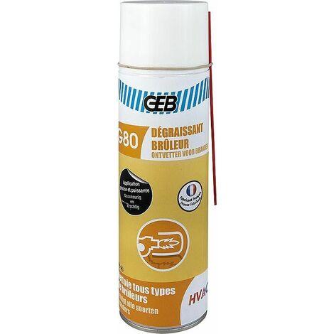 solvant de graisse pour bruleur G80 aérosol 500 ml
