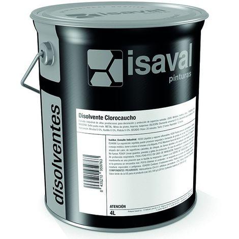 Solvant diluant caoutchouc chloré - 1 L de Isaval - Peinture piscine