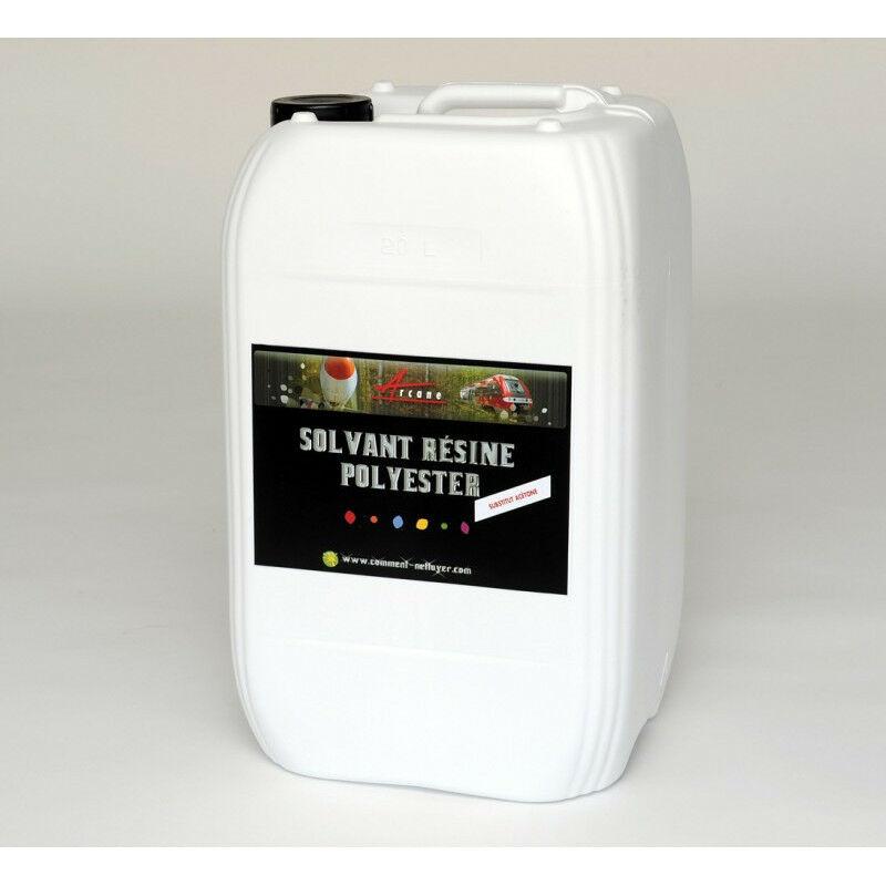 Solvant Nettoyant Résine polyester - Substitut acétone - ARCANE INDUSTRIES - Transparente - Liquide - 200 L