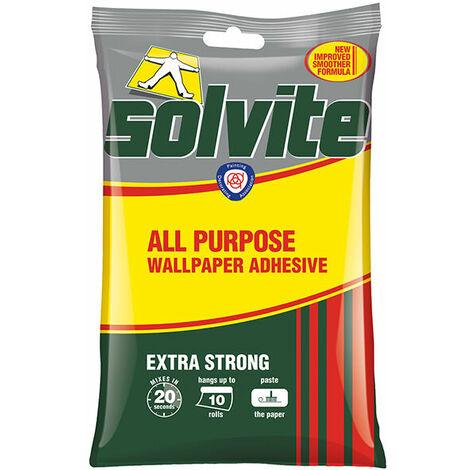 Solvite 1591159 All Purpose Wallpaper Paste Sachet 10 Roll