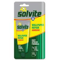 Solvite Wallpaper Repair Adhesive Tube