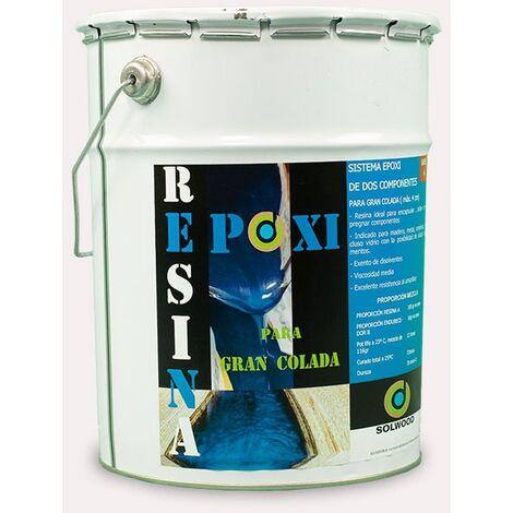 Solwood Resina Epoxi gran colada (gran espesor) 1,16KG