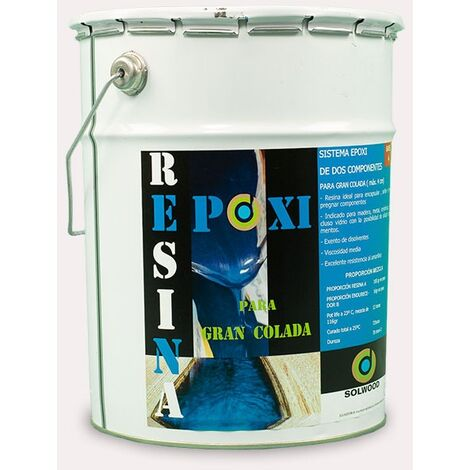 Solwood Resina Epoxi gran colada (gran espesor) 5,8KG