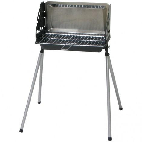 SOMAGIC - Barbecue à charbon fonte - Barbeco - 40.5x23 cm