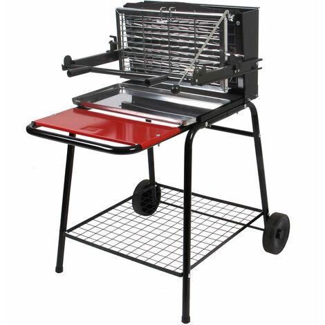 """main image of """"SOMAGIC - Barbecue au charbon de bois à foyer vertical RAYMOND - Noir"""""""