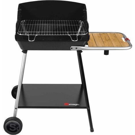 SOMAGIC - Barbecue au charbon de bois EXEL DUO GRILL - Noir