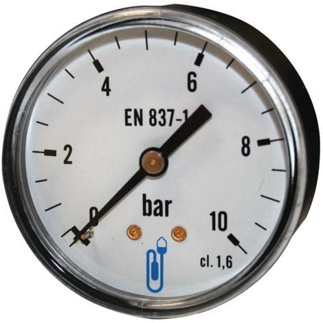 SOMATHERM - Manomètre Axial - Ø50 ou Ø63 mm