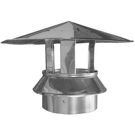 SOMBRERETE DP INOX 304 C/ABRAZ.30X150MM