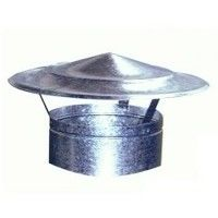 Sombrerete Fijo Chino Galvaniz - EXOJO - 861200 - 120 MM