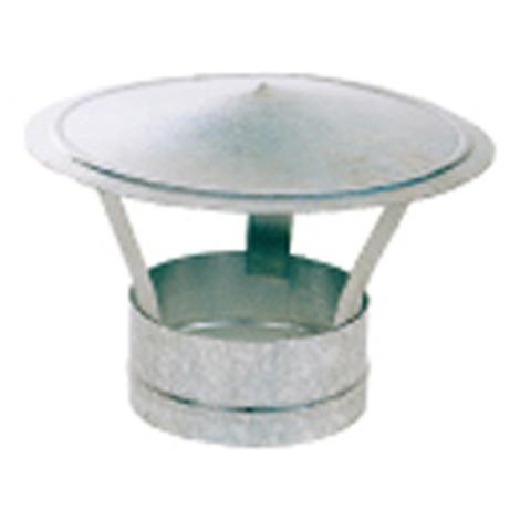 Sombrerete Fijo Chino Galvaniz - EXOJO - SG180 - 180 MM