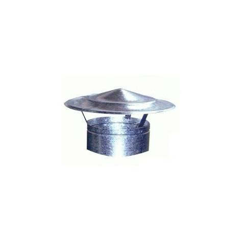 Sombrerete Fijo Chino Galvaniz - EXOJO - SG200 - 200 MM