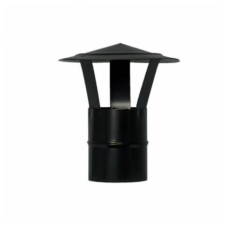 Sombrero estufa pellet vitrificado Ø80 mm
