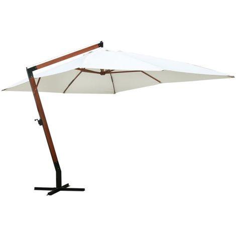 Sombrilla blanca 300x400 cm