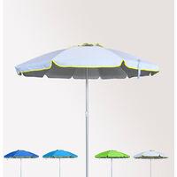 Sombrilla de playa antiviento aluminio protección UV 220 cm ROMA