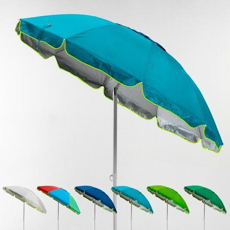 Sombrilla de playa antiviento protección uv 220 cm Portofino
