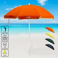 51787253474 Sombrilla de playa Girafacile 200 cm algodón ARTEMIDE