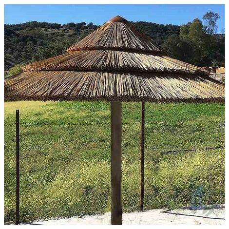 Sombrilla jardín de Junco Africano 2,15 metros