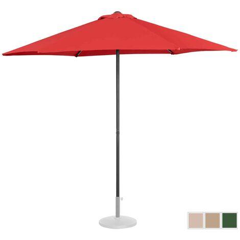 Sombrilla Para Jardín Parasol Terraza Hostelería Hexagonal Rojo Uv