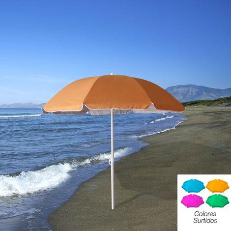 Sombrilla Playa Bandera Cerdeña 200 cm