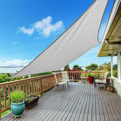 sombrilla velo impermeable jardín al aire libre patio toldo cubierta toldo protector solar Sasicare