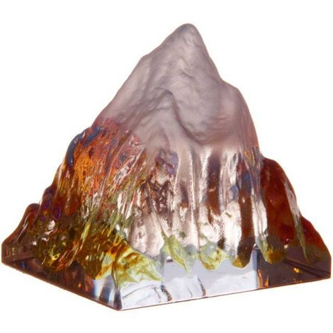 Something Different Fairy Garden Ice Mountain Sculpture (One Size) (Multicolour)