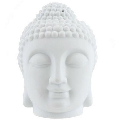 Something Different Giant Buddha Oil Burner (One Size) (White)