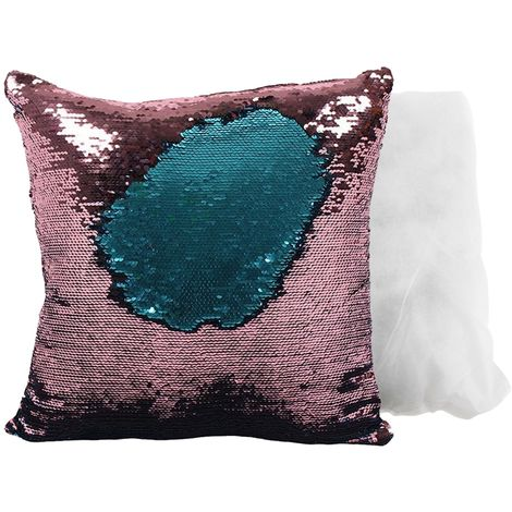 Something Different Unicorn Reversible Sequin Cushion (One Size) (Multicolour)
