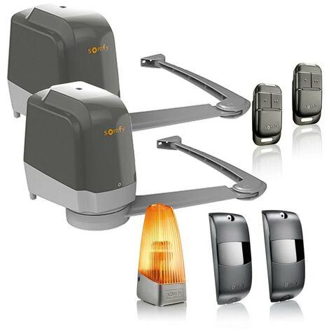 Somfy - 1241429 - Kit Motorisation Portail Battant Lockyvia Essential - {couleurs}