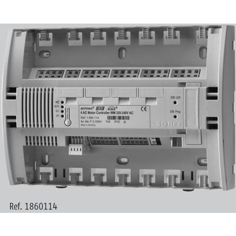 Somfy 1860114 Controller KNX/EIB for 4 Motors AC WM/DRM 220-240V AC