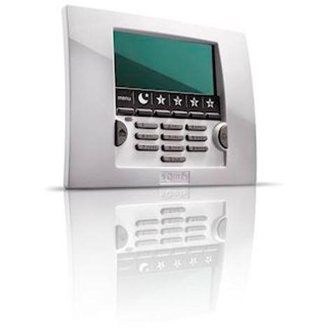 somfy 1875161   somfy 1875161 - clavier avec ecran lcd et lecteur de badge