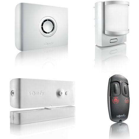 Somfy - 2401426 - Pack alarme Protexiom Start GSM - Blanc