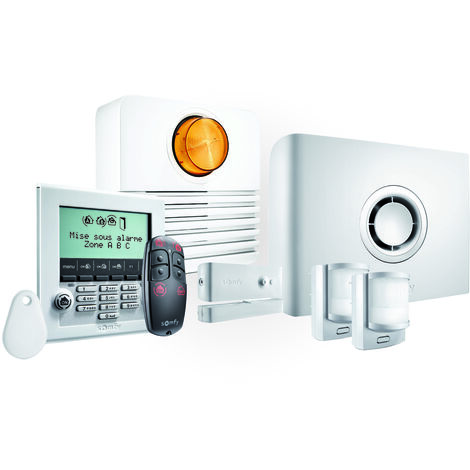 Somfy - 2401427 - Pack alarme Protexiom Ultimate GSM - Blanc