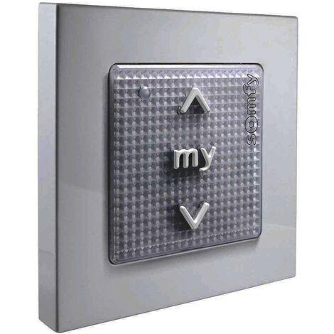SOMFY Commande murale sans fil pour gestion de motorisations Silver - {couleurs}