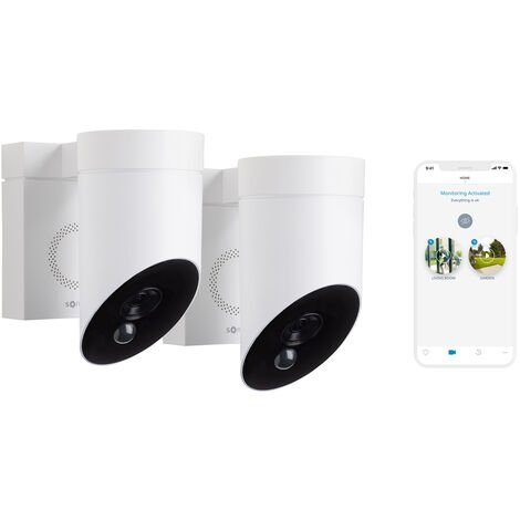 SOMFY Duo Outdoor Camera Blanche