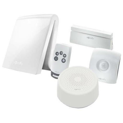 SOMFY GPS Tracker - Systeme Alarme maison anti-intrusion TaHoma Serenity Essential
