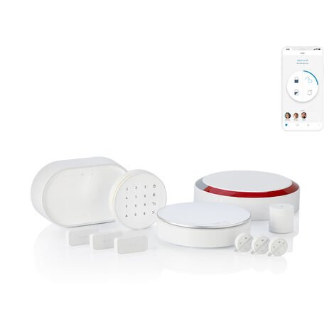 Somfy Home Alarm Advanced Plus, alarme maison sans fil connectée - 1875255