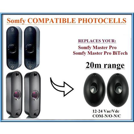 Somfy Master Pro / Somfy Master Pro BiTech , 12-24V, N.C-COM-N.O. plage de fonctionnement 20m!!!