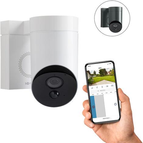 Somfy Outdoor Camera blanche, caméra extérieure - 2401560 - Blanc