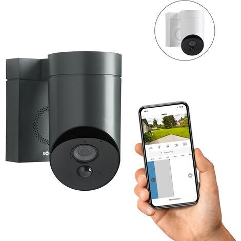 Somfy Outdoor Camera grise, caméra extérieure - 2401563 - Gris