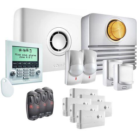 Somfy - Pack alarme Protexiom Ultimate GSM Kit 3 - Blanc