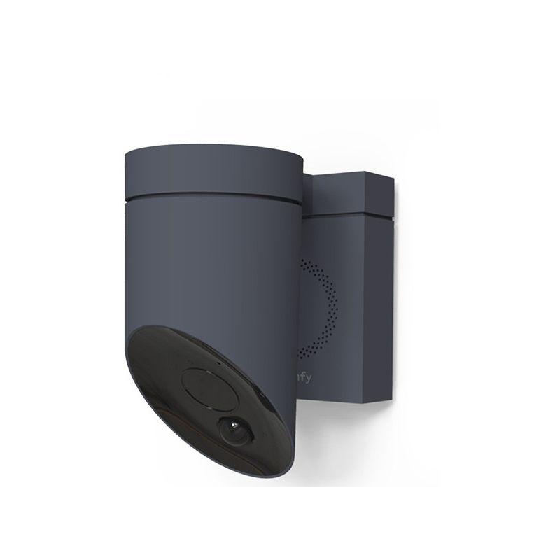 somfy protect outdoor camera grise 2401563. Black Bedroom Furniture Sets. Home Design Ideas
