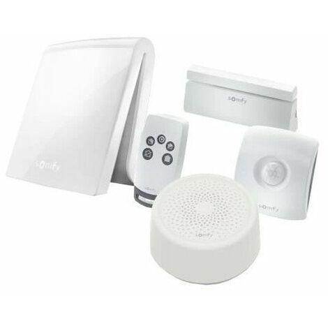 SOMFY Systeme Alarme maison anti-intrusion TaHoma Serenity Essential