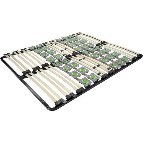 Sommier à lattes équipé de plots disques de chaque côté ERGO IF 55