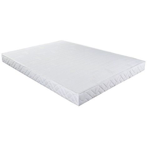 Sommier Essenzia Evolution COTON ORGANIQUE 160x200 - Blanc