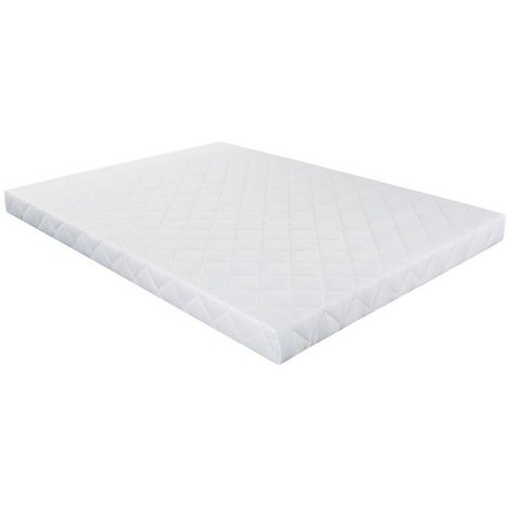 Sommier Essenzia Tradition COTON ORGANIQUE 140x200 - Blanc