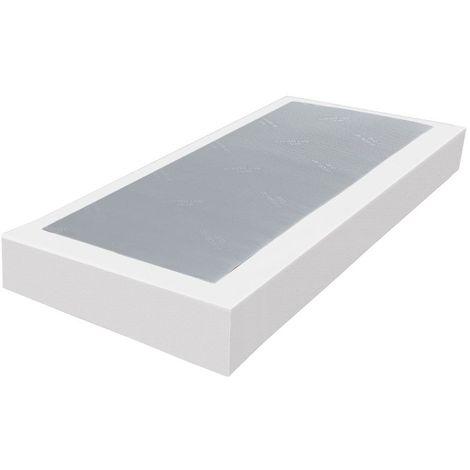 Sommier tapissier 80x200 SR18 simili blanc