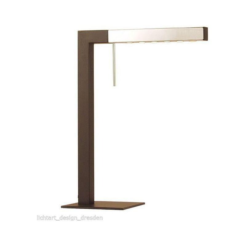 79170 Ell-T Uni LED Schreibtischleuchte 6 x1W Chrom Schwarz - Sompex