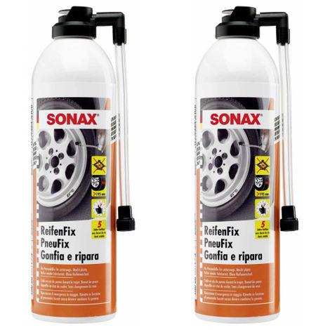 SONAX ReifenFix Reifendichtmittel 500 ml - Auswahl: 2 x SONAX ReifenFix Reifendichtmittel 500 ml