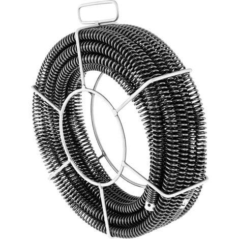 Sonda desatascadora de tuberías Set - 3 x 4,6 m - Ø 22 mm