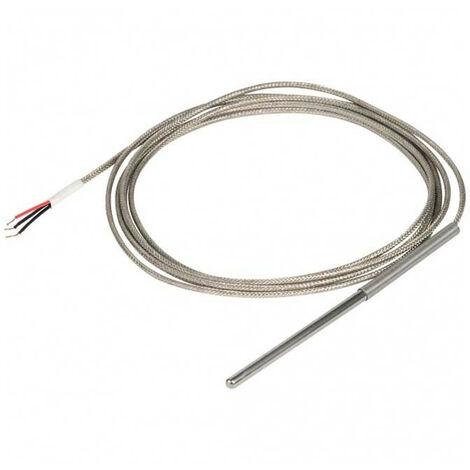 Sonde de détection de température Vemer PT100 3 Mètres IP40 VJ44250000